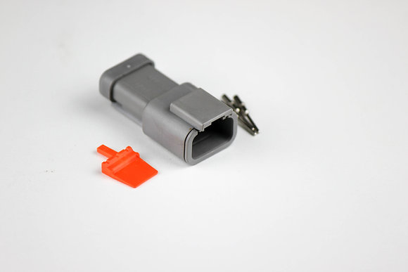 DTM Connector 3 Pin Male