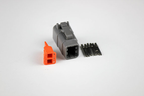DTM Connector 6 Pin Female