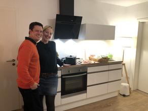 Küchenbau abgeschlossen