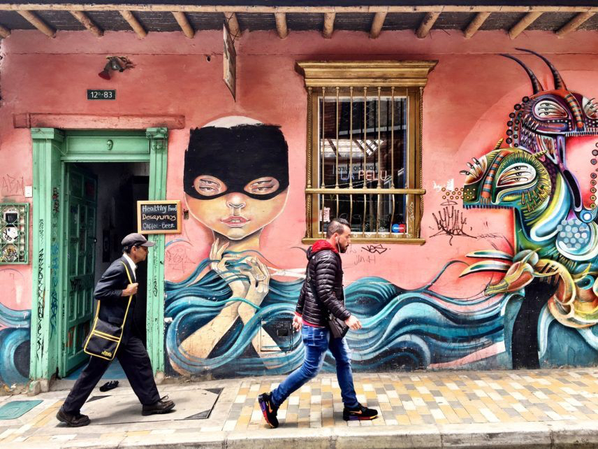 Bogota grafitti