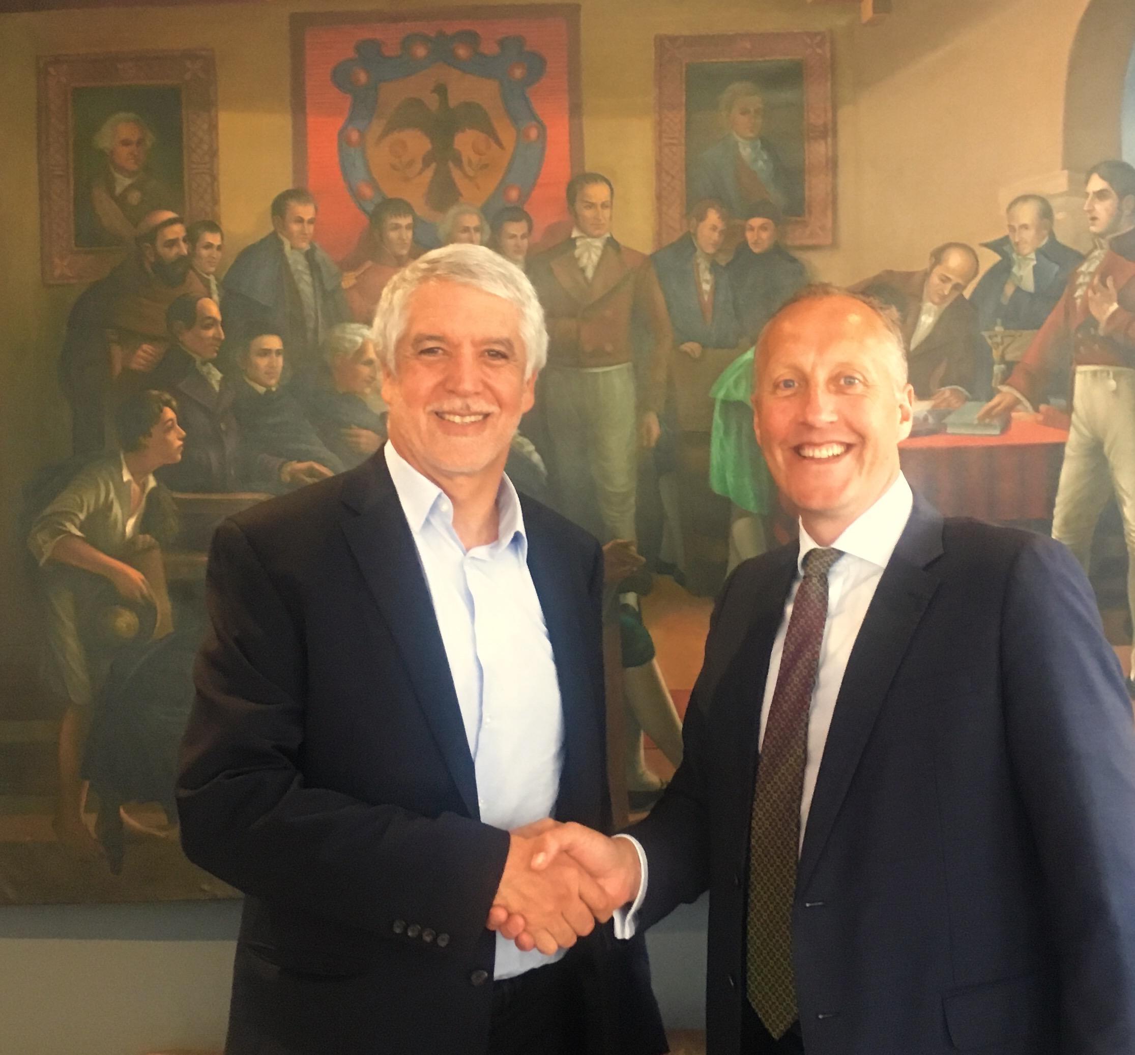 Mayor Penalosa and Jim Walker