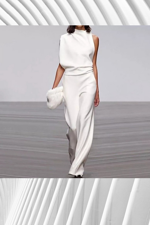 Off shoulder jumpsuit - ALL SIZING IN NOTES BELOW