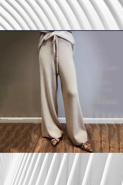 Cashmere Wide legged Pants
