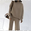 Thumbnail: Cashmere Mix Oversized Sweater and Tight Flared Pant Set