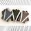 Thumbnail: Cashmere Wide Pants Suit - Stripe