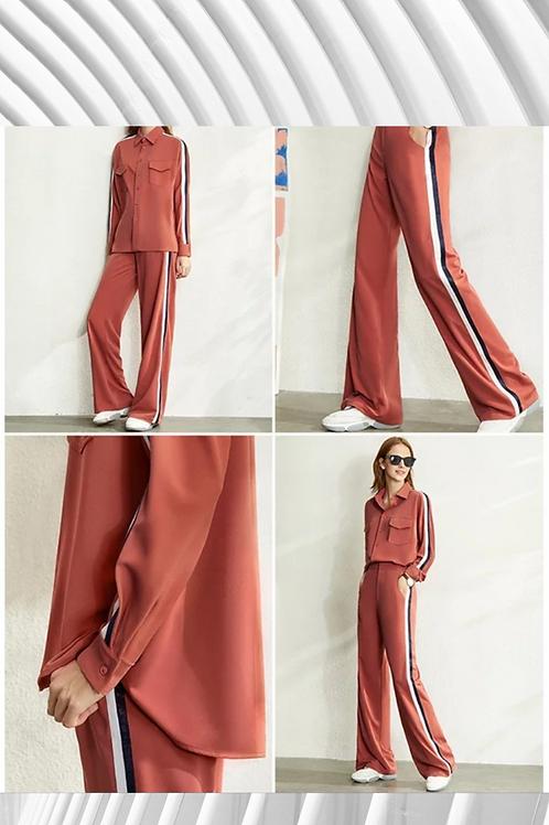 Side Stripe Pant Set - Sizes in details