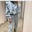 Thumbnail: Demin Frill Jumpsuit