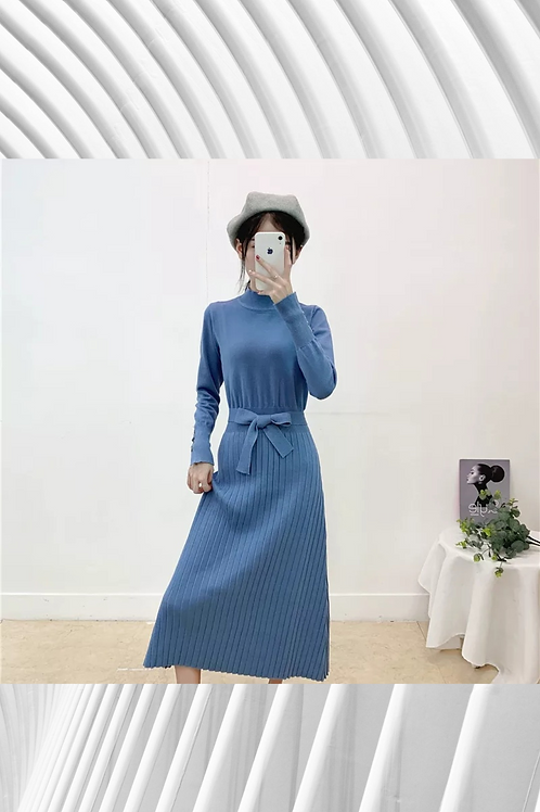 Knitted Maxi Dress High Quality