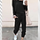 Thumbnail: Loose Jumpsuit Casual, Comfy, Round neck,Tapered leg