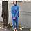 Thumbnail: 2 Pieces Set Women Knitted Tracksuit Turtleneck Sweater Suit