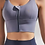 Thumbnail: Soft strappy Gym/Yoga Vest - Front Zipper