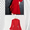 Thumbnail: Long Sleeve Ruffle Dress - Red 2021