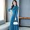 Thumbnail: Vintage Chiffon Maxi Dress