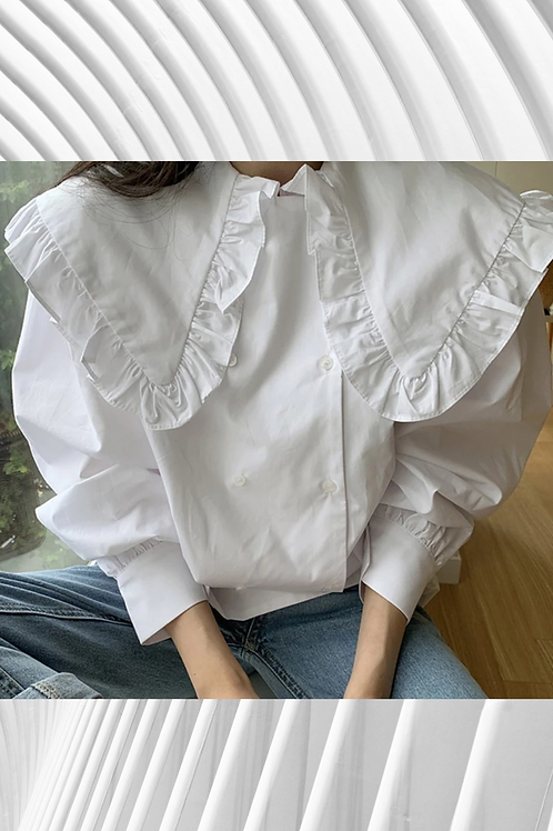Lantern long Sleeved Vintage Shirt 2021