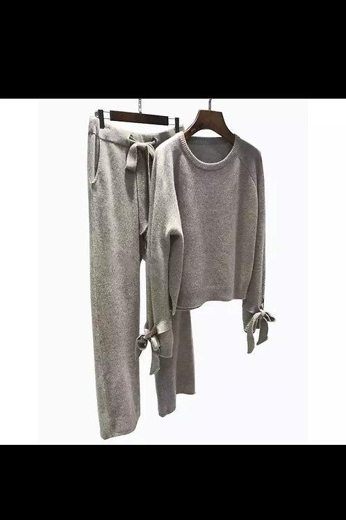 Cashmere Bow Lounge Suit