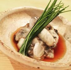 地牡蠣ポン酢