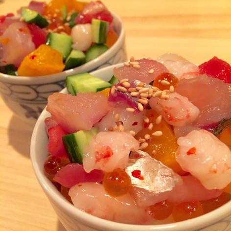 海鮮バラチラシ小鉢