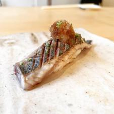 秋刀魚炙りおろしポン酢