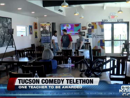 KGUN On Your Side Tucson - Comedy Telethon To Benefit Education
