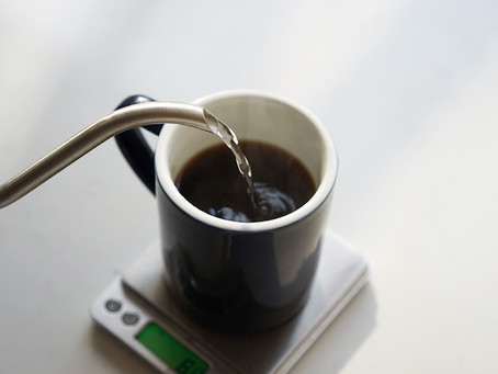 How to find our seasonal espresso blend sweet spot  with a v60 pour over