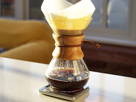 How to brew great tasting coffee with a Chemex
