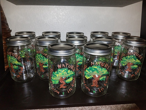Lots of mason jars