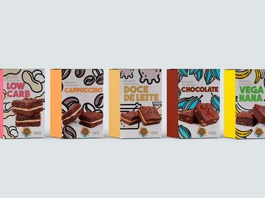 Package Brownies Fusão Orgânica