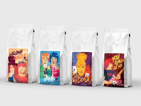 Embalagens Cafés Especiais Chapellatto Coffee Shop