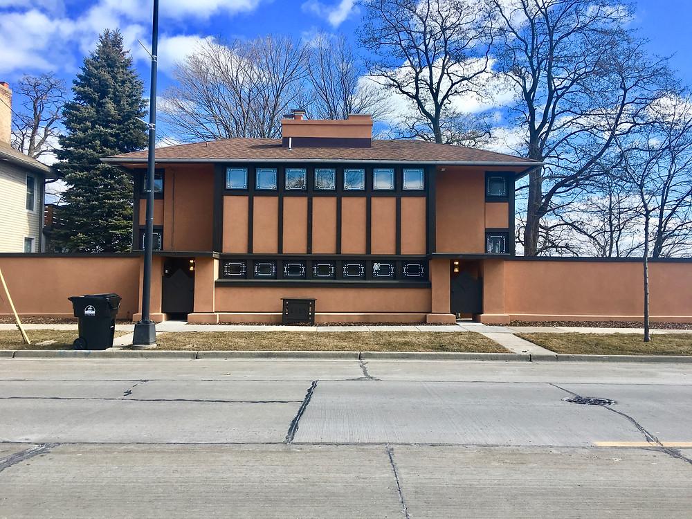 Thomas Hardy House by Frank Lloyd Wright in Racine, WI