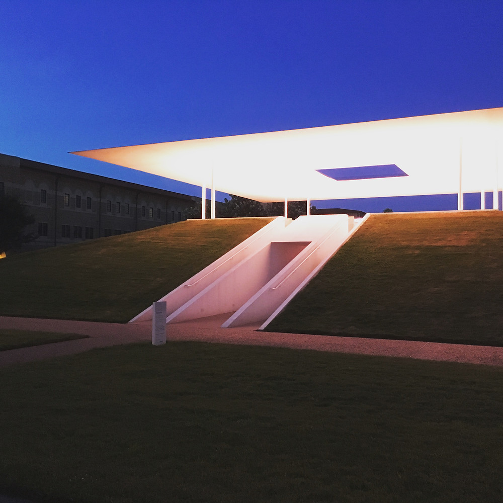 "James Turrell's ""Twilight Epiphany"" Skyspace- Rice University Campus"