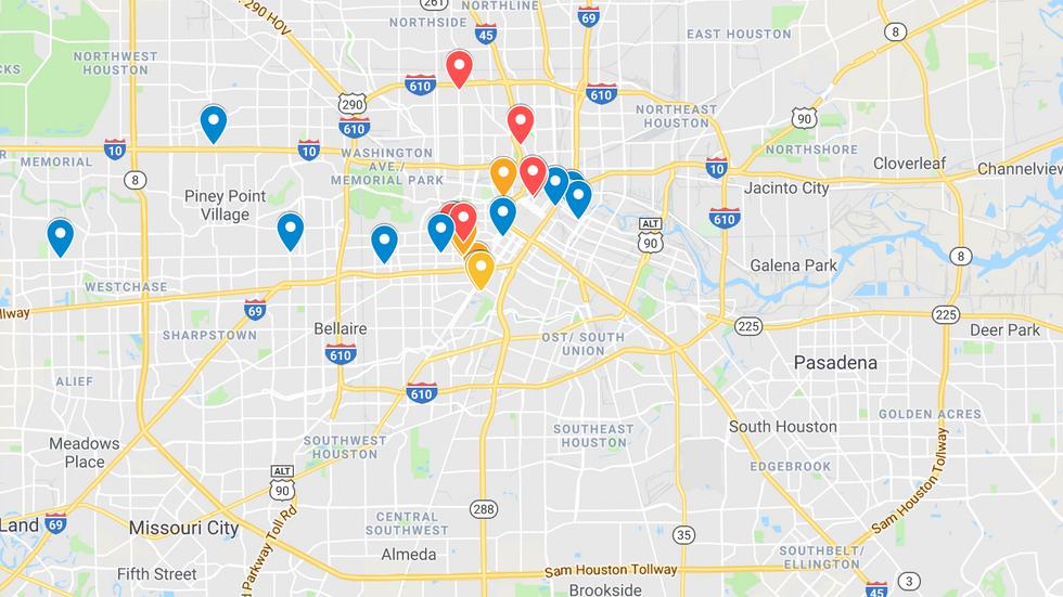 Favorite Places- Houston