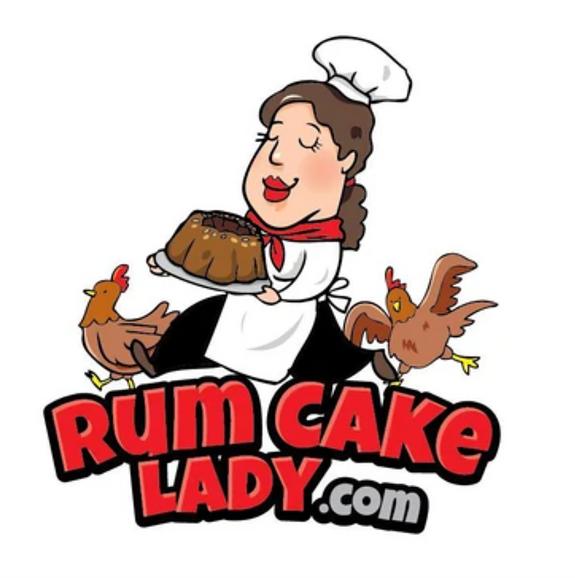 Rum Cake Lady Cuban Cafe