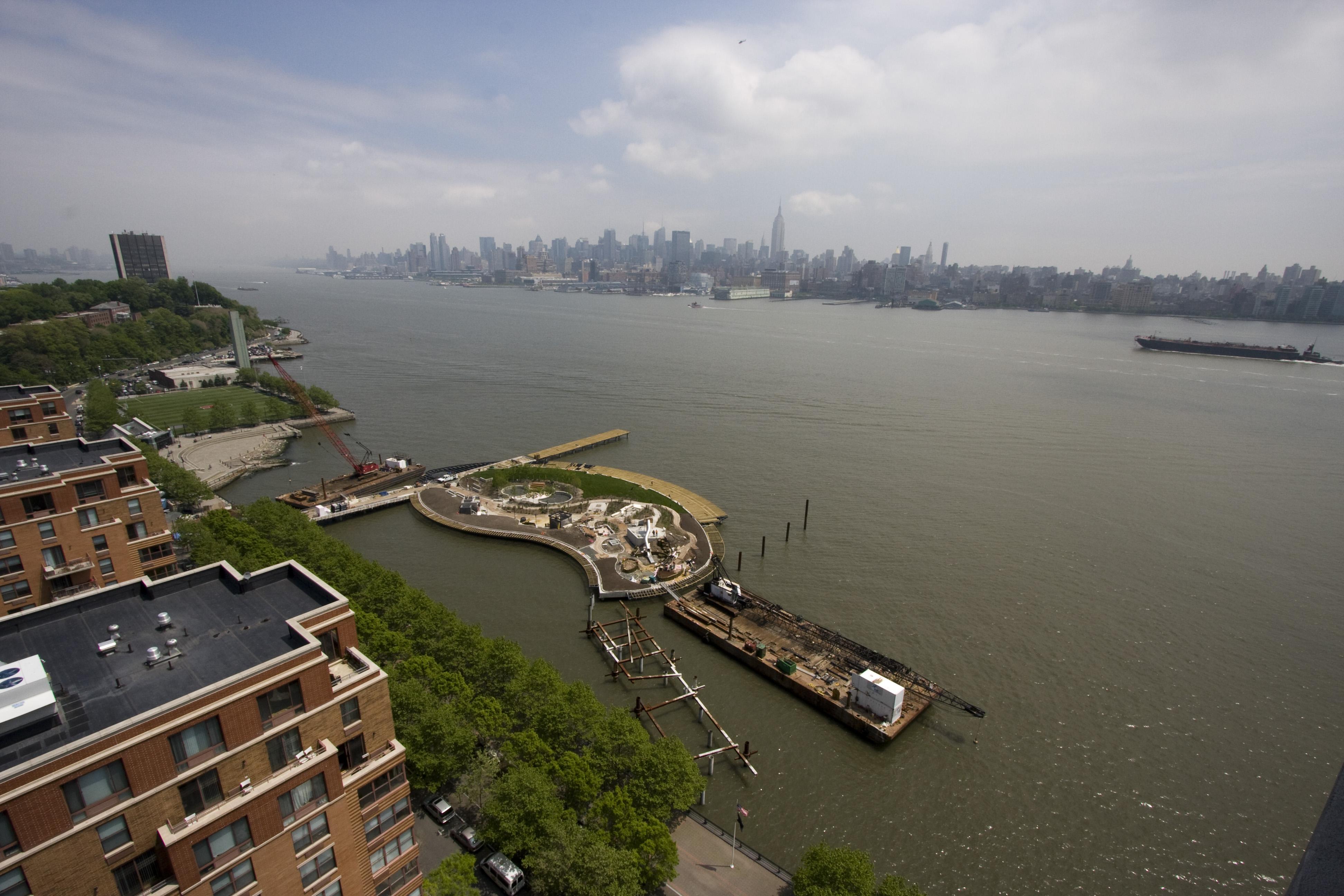 Pier C Park - Hoboken, NJ
