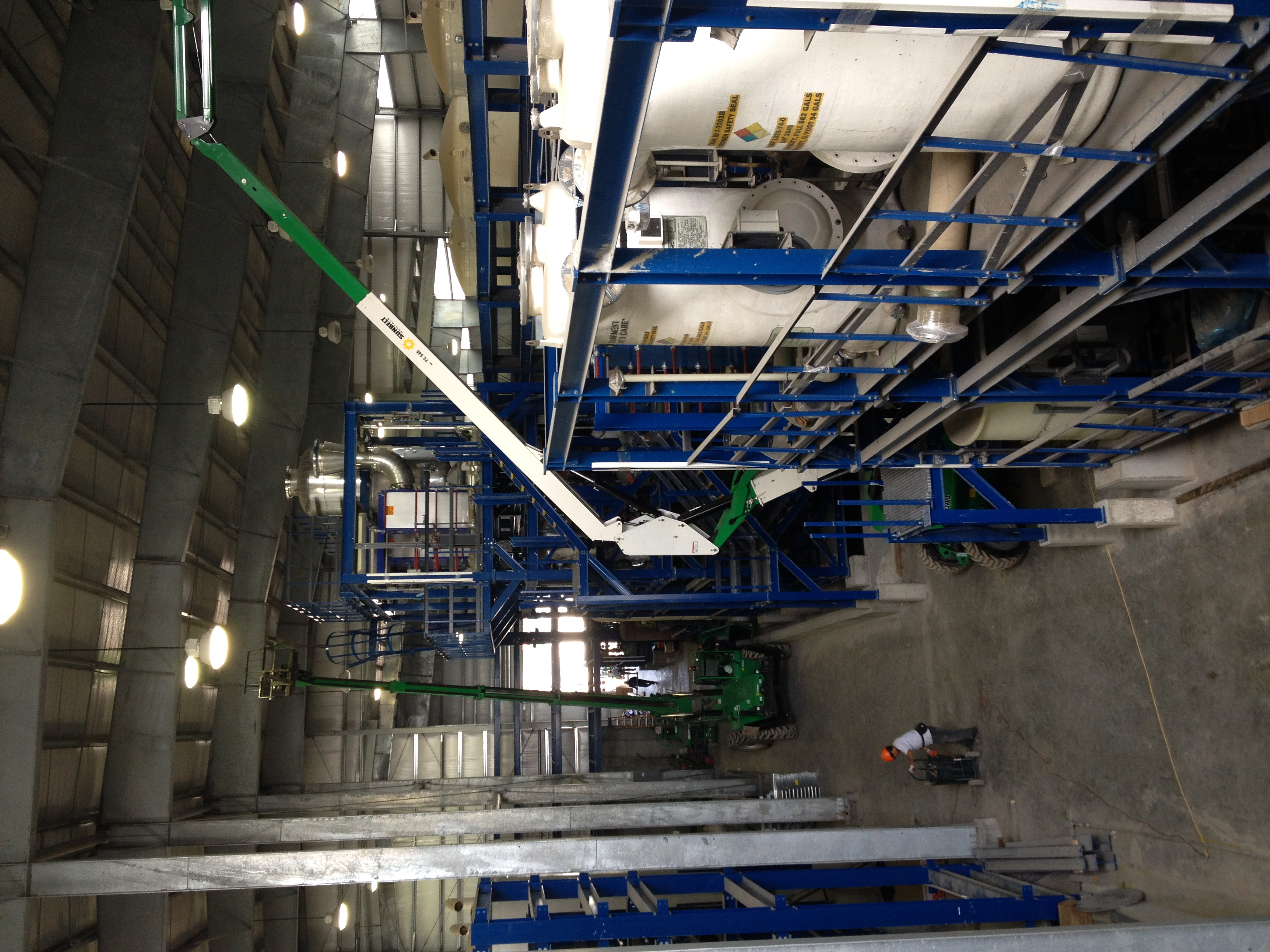 Chlorine Chemical Process Plant
