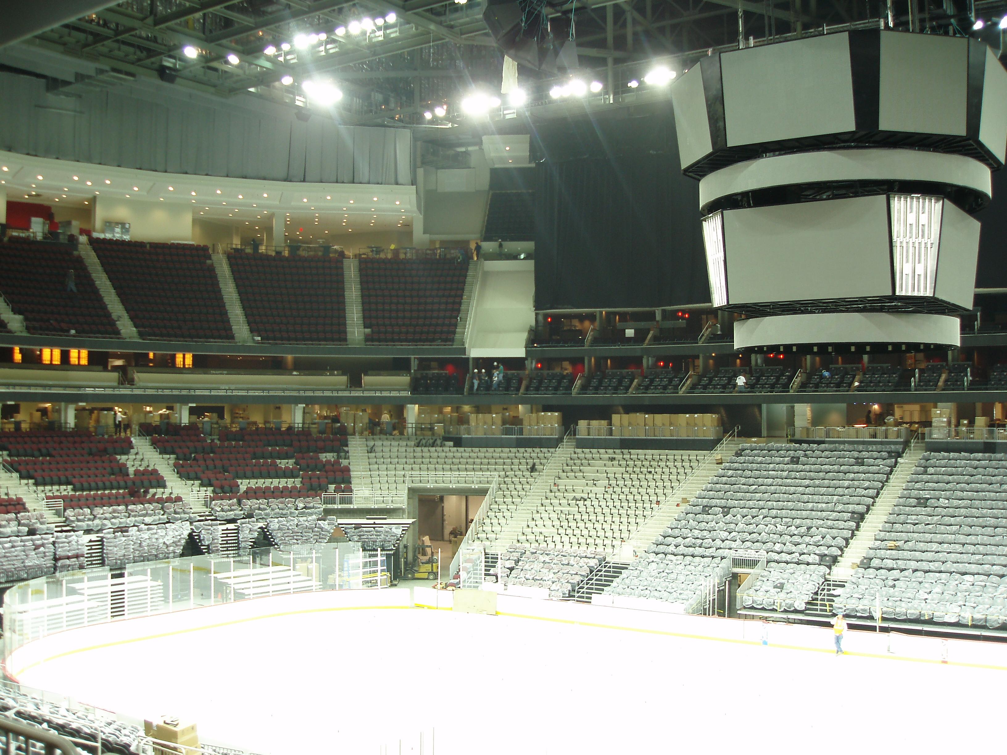 NJ Devils Arena Elec. Infrastructure
