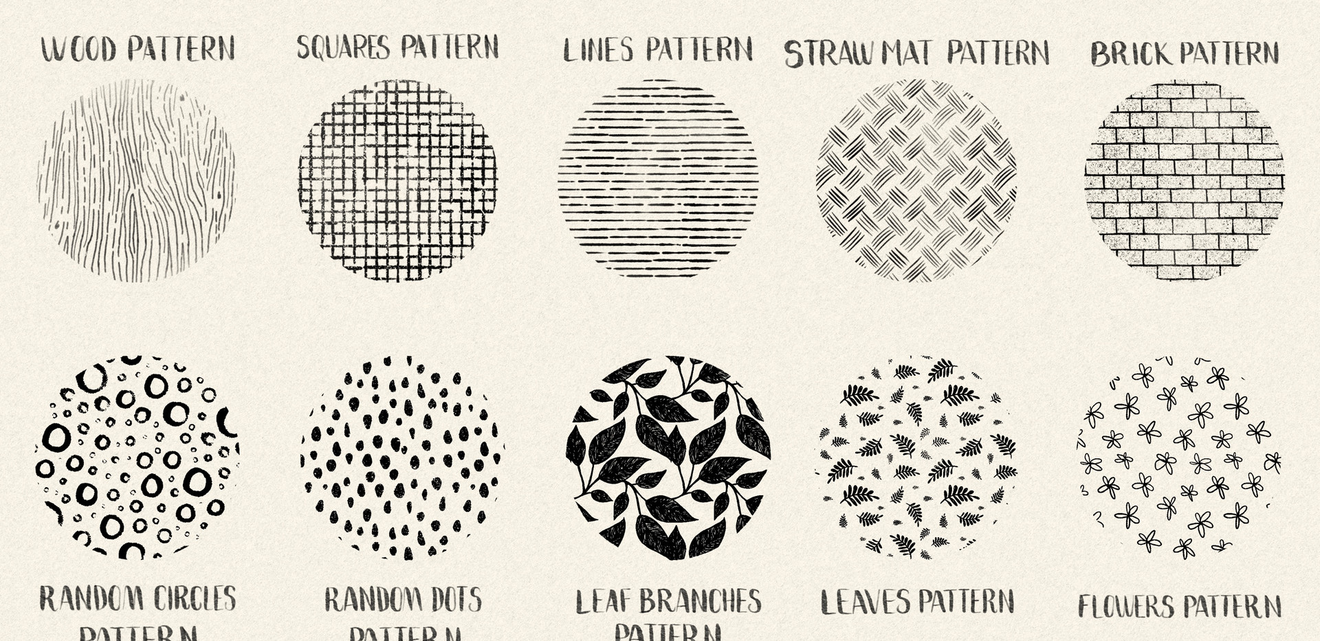Pattern Brushes for Procreate