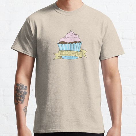 Hello Sweetie Cupcake T-Shirt
