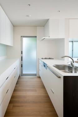 キッチン|吹田の家|一級建築士事務所エヌアールエム