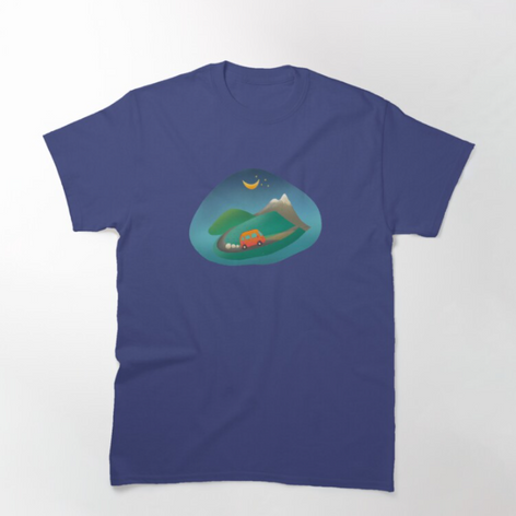 Driving Up the Mountains T-Shirt