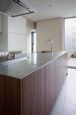 キッチン|中百舌鳥の家|一級建築士事務所エヌアールエム