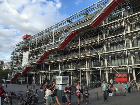パリ旅行記 その8/ポンピドゥーセンター・グランダルシュ・フォンダシオンルイヴィトン・ケブランリ美術館