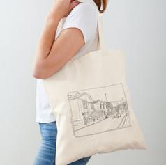 Bristol street Cotton Tote Bag