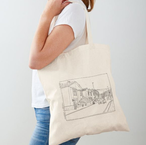 Bristol street Cotton Tote Bag