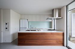 キッチン|浜寺公園の家|一級建築士事務所エヌアールエム
