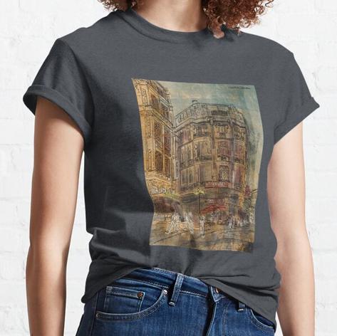 Istanbul Urban Sketch Street T-Shirt