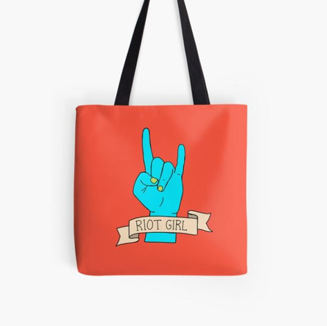 Riot Girl Tote Bag