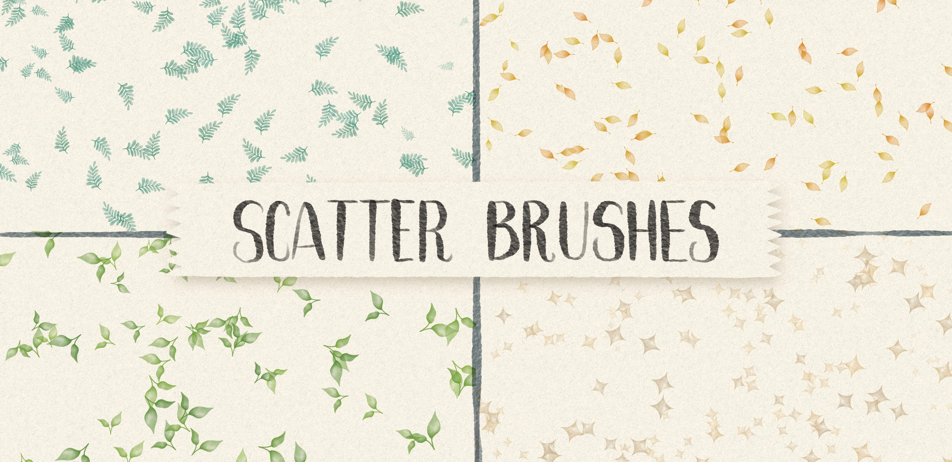 Scatter Brushes for Procreate