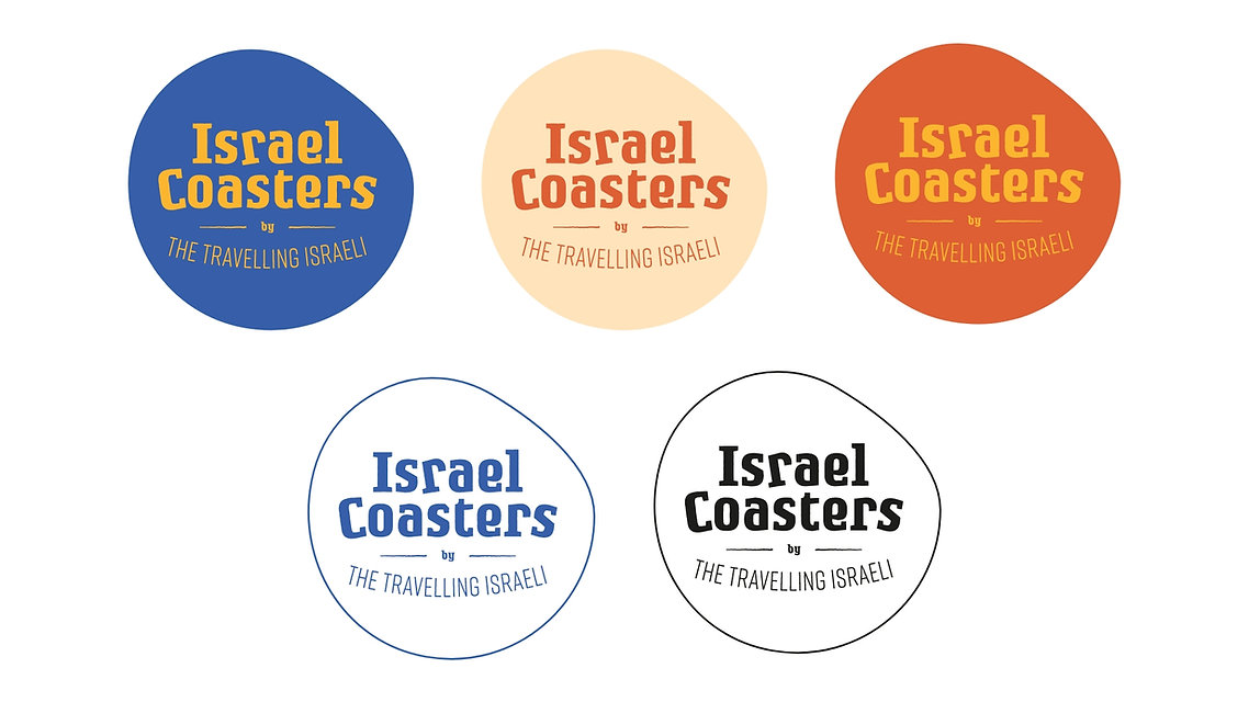 Israel Coasters Logos