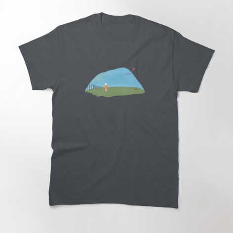 Girl with a Kite T-Shirt