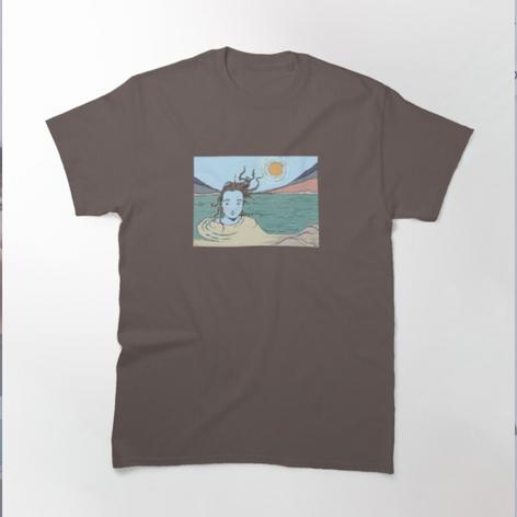 Woman in the Ganga T-Shirt